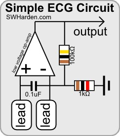 [SCHEMATICS_4ER]  DIY ECG Machine On The Cheap | Ekg Wiring Diagram |  | Scott W Harden